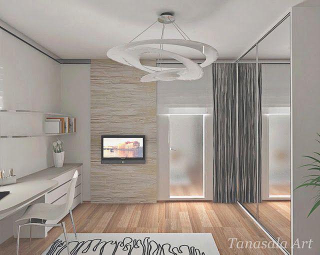 Дизайн интерьера комнаты для девочки-подростка
