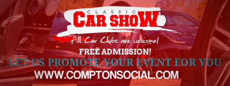 Facebook Cover Graphic Design Events By ComptonSocial LLC.