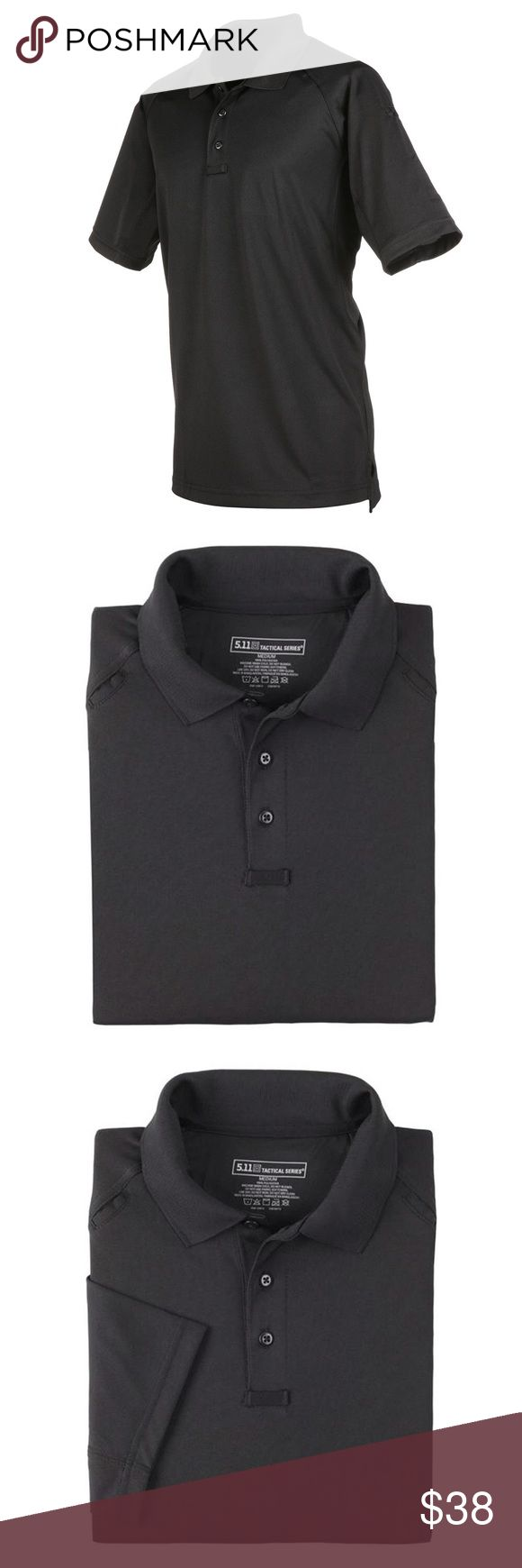 5.11 TACTICAL PERFORMANCE BLACK POLO SHIRT SZ L *PLEASE READ ENTIRE DESCRIPTION AND VIEW ALL PICTURES BEFORE PLACING YOUR BID. THANK YOU.   *100% AUTHENTIC AND SATISFACTION GUARANTEED! NO FAKES! NO VARIANTS! PLEASE CHECK MY EXCELLENT FEEDBACK!   *SERIOUS BUYERS ONLY PLEASE!   *I ALSO ASK BEFORE YOU LEAVE NEGATIVE FEEDBACK PLEASE CONTACT ME FIRST TO SEE IF WE CAN WORK SOMETHING OUT.   *MESSAGE ME ANY QUESTIONS YOU MAY HAVE.   *SAVE ME AS A FAVORITE SELLER!!! CHECK MY OTHER LISTINGS! 5.11…