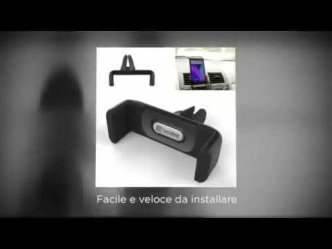 TecHERE AirFrame360 - Supporto / porta telefono universale per auto