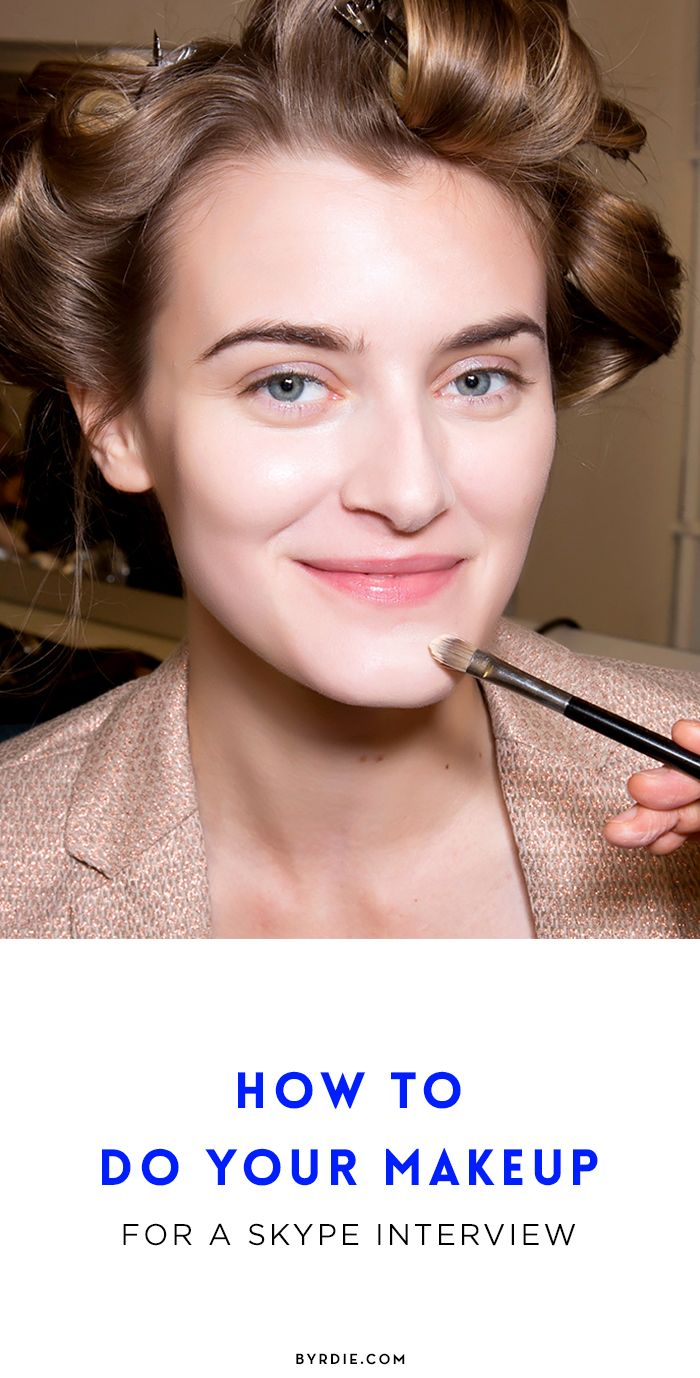 best ideas about skype interview how to do your makeup for a skype interview