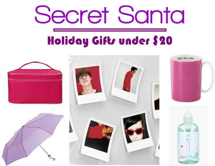 5 Secret Santa Gifts Under $20 #nyc #gifts
