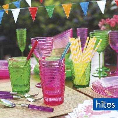 Mezcla colores fuertes para disfrutar con tu familia y amigos.
