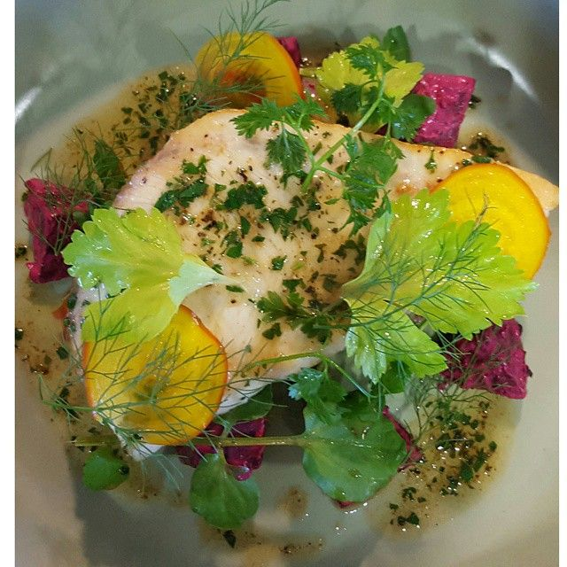 Swordfish, Salad of Beetroot #emersons #emersonsrestaurant #huntervalley #lovedale #lunch #chef #chefslife #food #foodie #foodstomping #foodshare #instafood #instachef #picoftheday #gastronomy #goodfood #truecook #cook #restaurant #wtfoodie #yummy #seafood