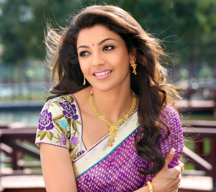 kajal agarwal in traditional jewellery - Google Search