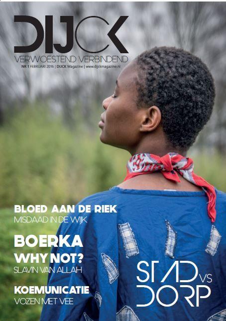 Dijck is gemaakt als onderdeel van het project 'Bladen maken' door derdejaars studenten Fontys Hogeschool Journalistiek in januari 2016.
