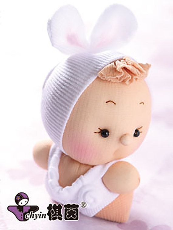 Cutie Patootie Candy Babies Stuffed Animal by ClassyThreadsKits, $12.00
