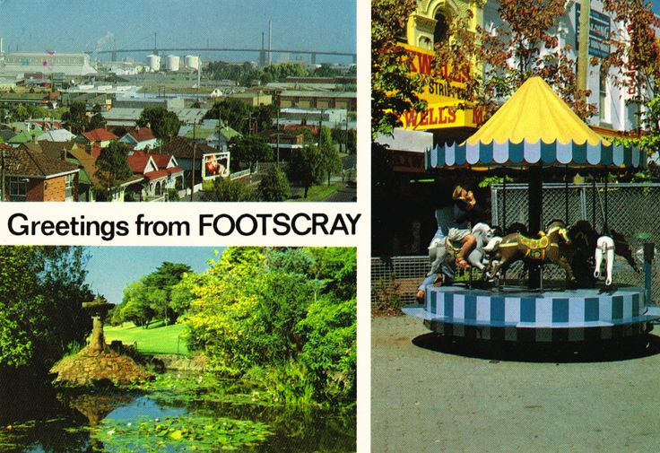 Greetings from Footscray!
