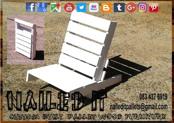 Saw this foldable beach / outdoor chair on a video the other day. Obviously I couldn't resist building one. Perfect for the outdoors, patio, pool area etc. #palletoutdoorfurniture #palletoutdoorfurniture #palletpatioset #palletpatiotable #palletoutdoorsetting #naileditcustombuiltpalletfurniture #naileditpalletfurniture #nailedcustompalletfurniture #custompalletfurnituredurban #palletfurnituredurban #beachfurniture #beachchair #poolfurniture