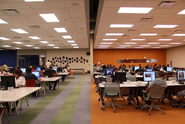 Mcallen Public Library Study Room