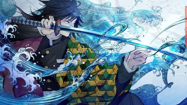Ou Giyu Aussi Appele In 2020 Anime Wallpaper Wallpaper Pc Anime Anime