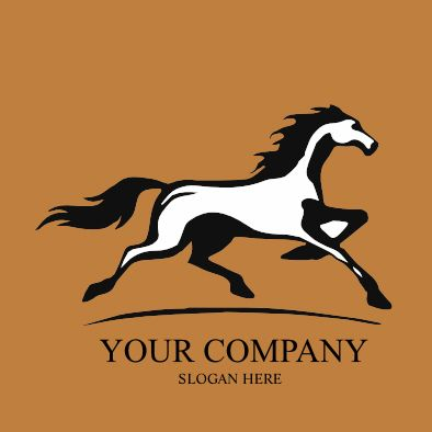 Horse logo  #available #forsale www.e1web.co.nz