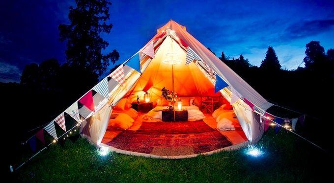 海外で注目の贅沢キャンプを日本でも!話題の「グランピング」スポット6選