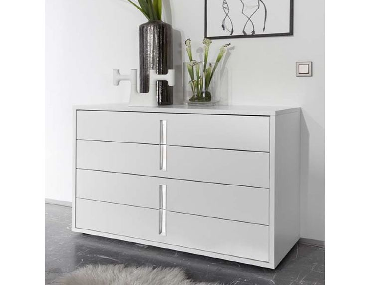 93 best images about chambre adulte design ou contemporaine on pinterest - Commode chambre blanche ...