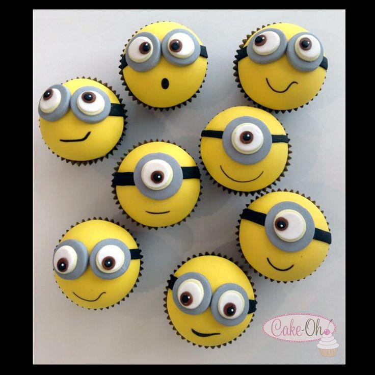 Minion Cupcakes - which one is your favourite?