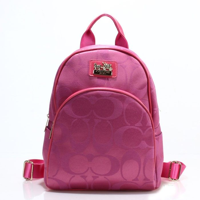 Coach Logo Monogram LZ701 Backpack In Rose
