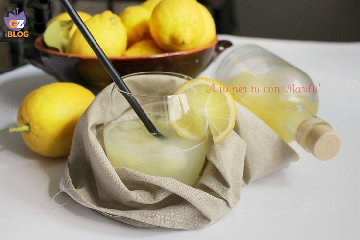 Lo Sciroppo per limonata è un'idea da tenere sempre in frigo. Ideale per limonate, granite o per ghiaccioli genuini per la famiglia