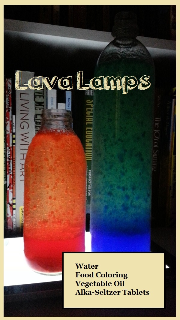 New post Home made lava lamps. SO easy to do. All you