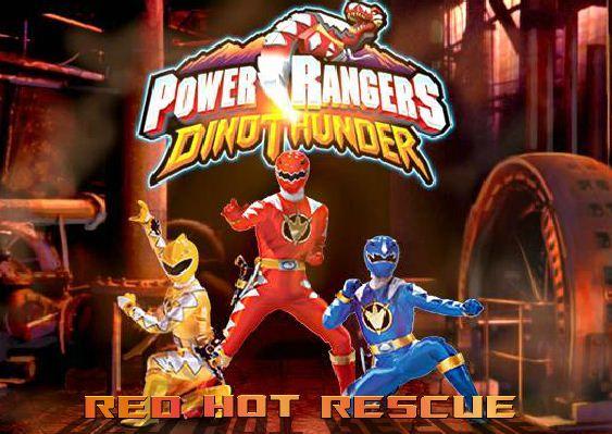 Power Rangers Dino Thunder game online