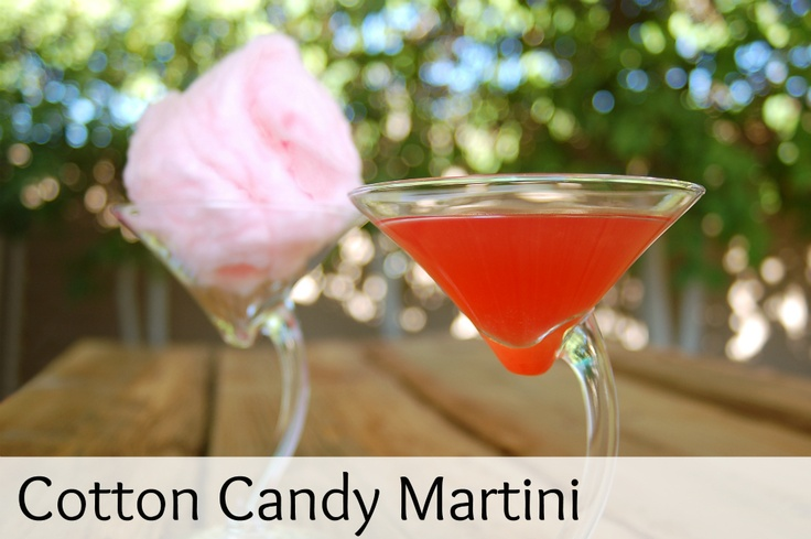 Cotton candy? Martini? Yes on both, please!