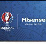 Hisense 55 inch Widescreen 4K Smart LED TV with Freeview HD – Black