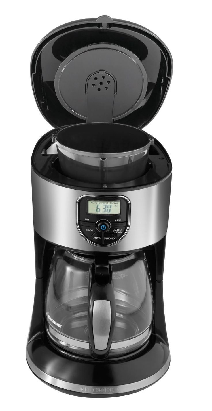 Black and decker 12 cup programmable - Black Decker Cm4000s 12 Cup Programmable Coffeemaker