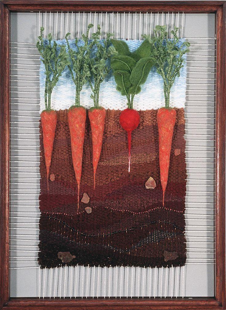 Martina Celerin Dimensional Weavings