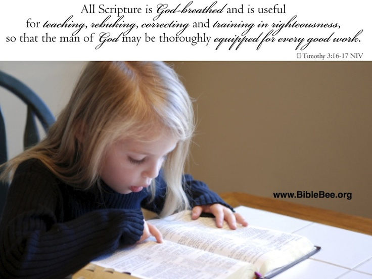 II Timothy 3:16-17 - All Scripture is God-breathed. . .Ministry 101, Campus Ministry, Encouragement Kids, Kids Amidst, Kids Ministry, Teaching Kids, Kids Sunday, Bible Bees