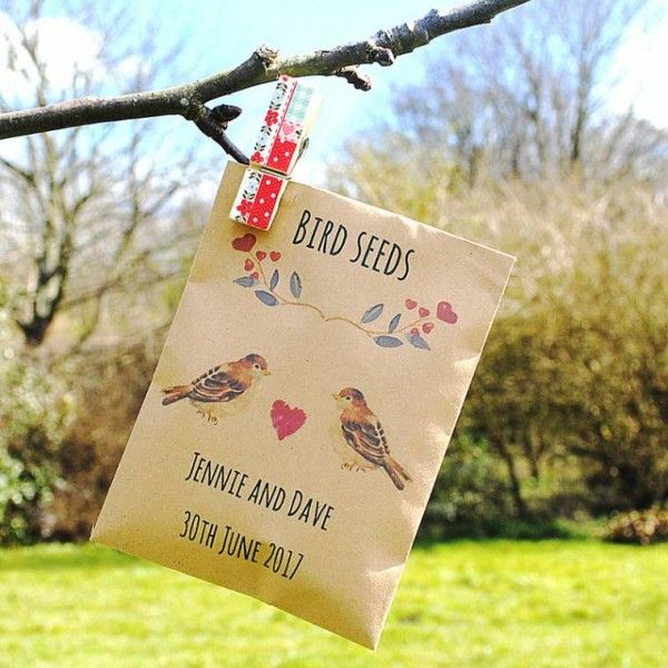 90 best Seed Packet Wedding Favours images on Pinterest Seed