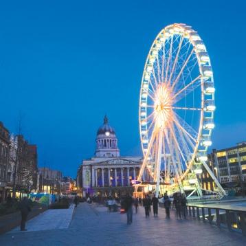 Market Square ~ Nottingham, England