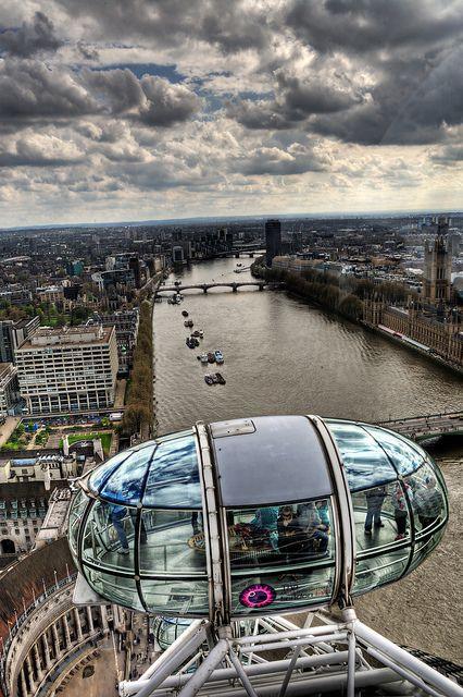 London Eye | Amazing! Too bad I was afraid of heights. Beautiful vistas.