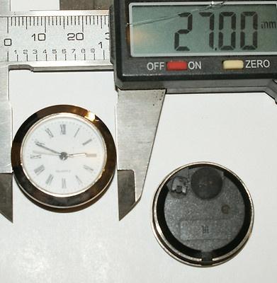 meccanismi per orologi da incasso