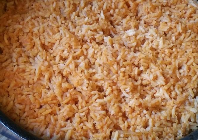 Sopa de Arroz (Spanish rice) Recipe -  Are you ready to cook? Let's try to make Sopa de Arroz (Spanish rice) in your home!