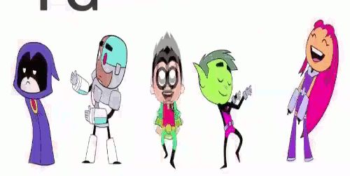 Animated some new dance moves for Teen Titans Go season 2