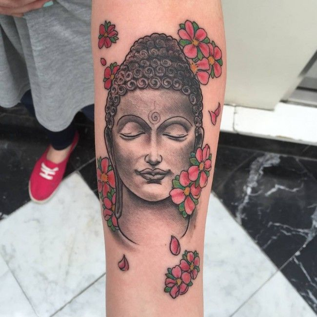 120 Mystical Buddha Tattoo Designs And Meanings awesome  Check more at http://fabulousdesign.net/buddha-tattoos-meanings/
