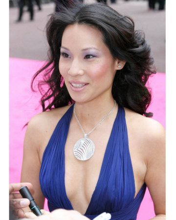 Matchless lucy liu fakes has left
