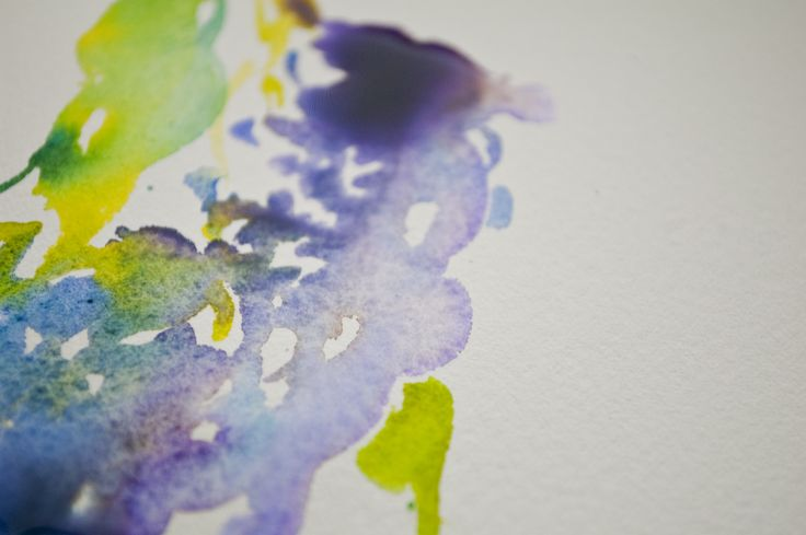 Lilacs in watercolor! Love the way they are taught in this online course.