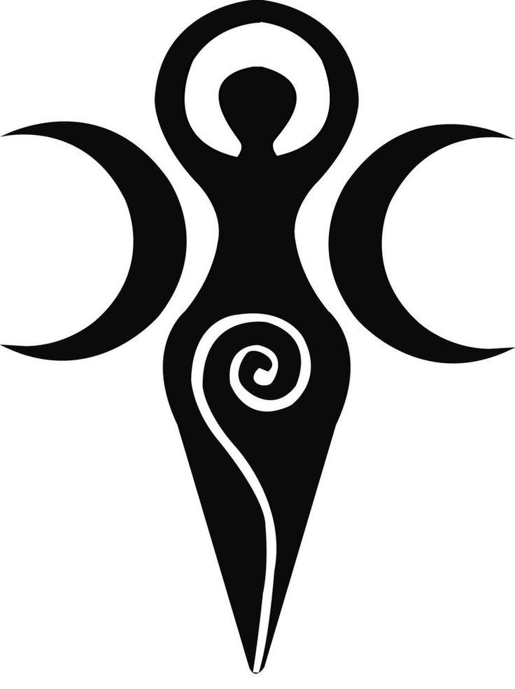 Goddess Car Bumper Window Spiritual Wiccan Sticker Decal