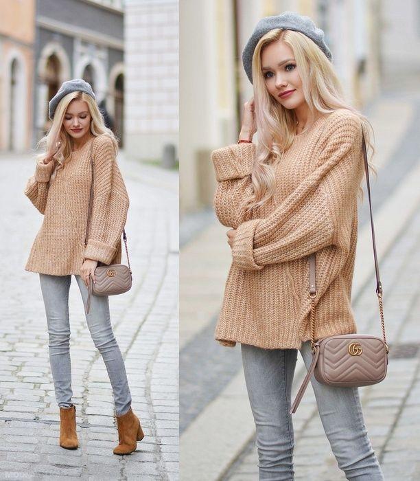 Carmel oversize sweater from @modnapolkapl   #ootd #fallfashion #lookoftheday #wearitloveit #getthelook