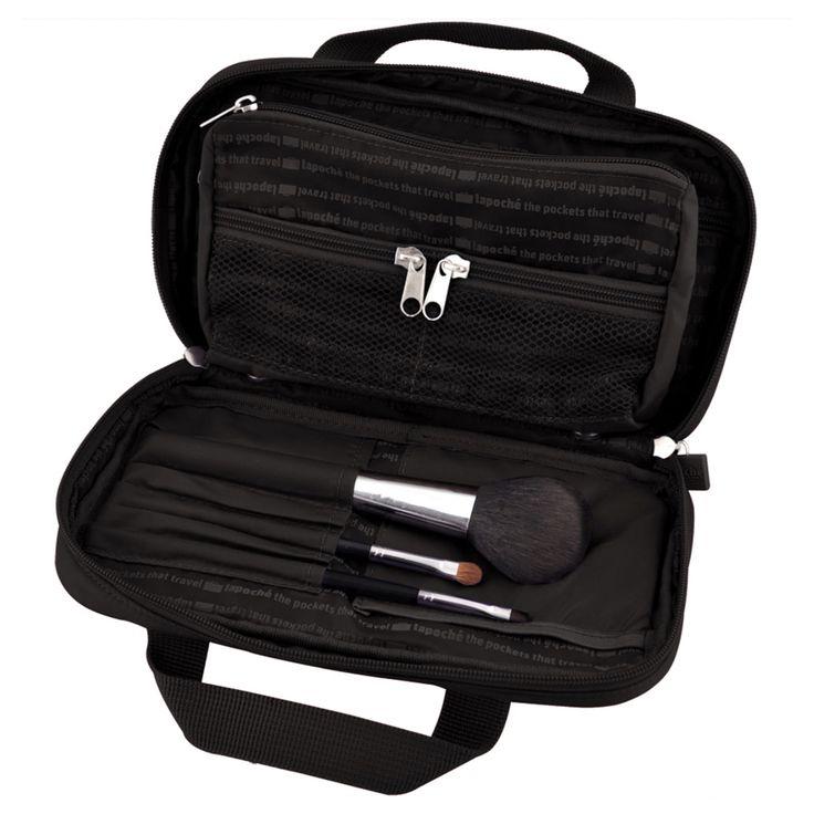 Lapoche Make Me Up Bag: Black - $34.95 #makeupbag #makeupcase