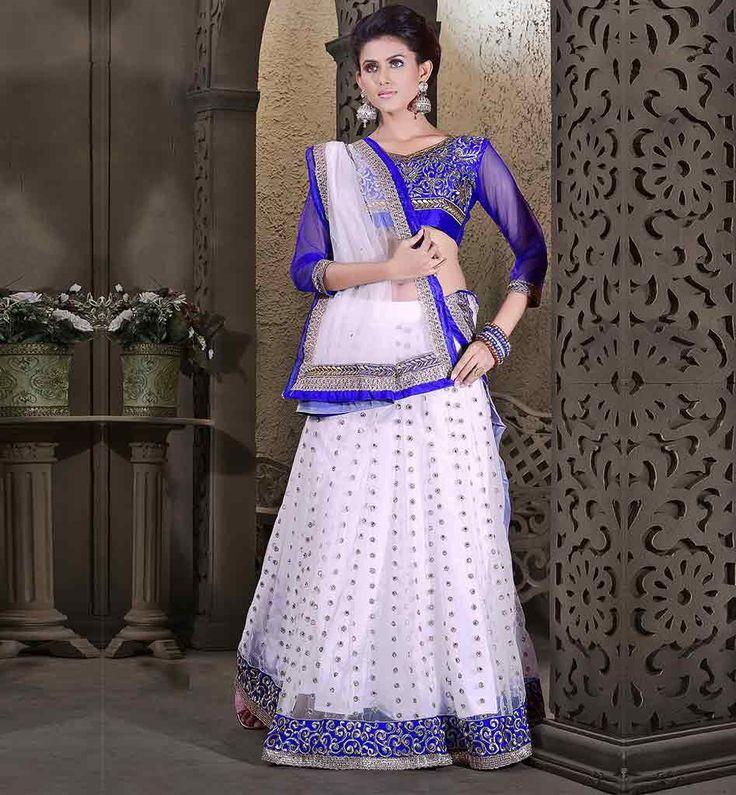 ETHNIC INDIAN LEHENGA CHOLI ONLINE SHOPPING IN UK AT AFFORDABLE RATE # – Stylish Bazaar