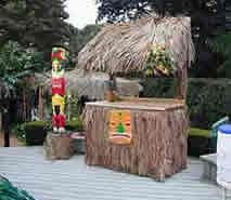 Gilligab's Island themed party   ... , lights, island statue, tiki mask, and large island drum...$485.00