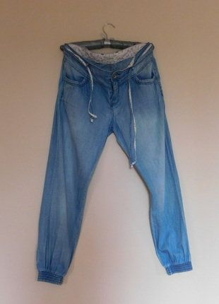 Kup mój przedmiot na #vintedpl http://www.vinted.pl/damska-odziez/dzinsy/17685663-pimkie-spodnie-cienki-jeans-38-40