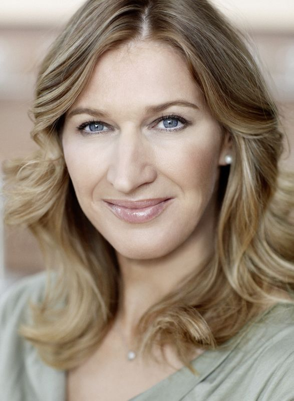 "Stefanie Maria ""Steffi"" Graf ~ 22 Grand Slam singles titles (seven titles at Wimbledon, five titles at the US Open), Olympic Gold medal"
