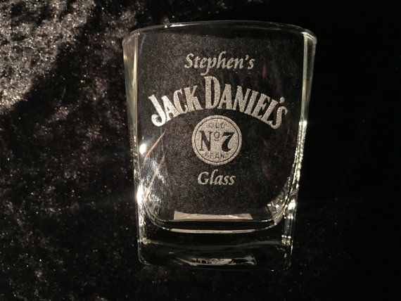 295ml Personalised Jack Daniels Glass Please check out our other listings https://www.etsy.com/au/shop/SJDesigns78?ref=hdr_shop_menu
