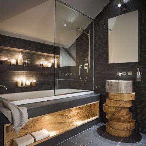 15 best bad images on Pinterest Bathroom, Half bathrooms and - badezimmer design badgestaltung