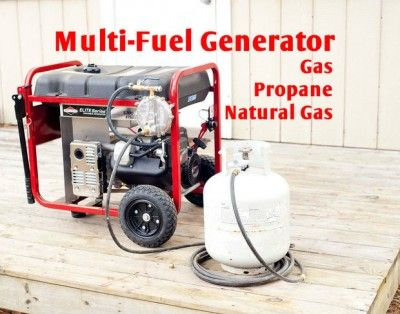 The Homestead Survival | Turn Your Gas Generator Into A Multi Fuel Generator