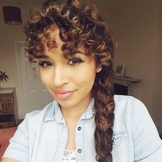 Whether you have short curly hair or long curly hair, here are 45 seriously cute hairstyles for curly hair.