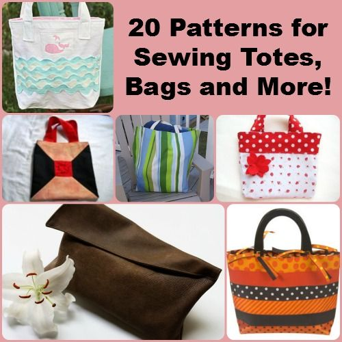 """""""How to Make a Purse: 20 Patterns for Sewing Totes, Bags and More"""" free eBook   FaveCrafts.com"""