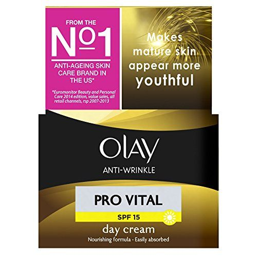 From 4.00:Olay Anti Wrinkle Pro Vital Day Cream With Spf15 50 Ml